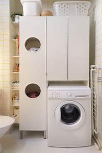 Meuble Machine à Laver Ikea : meuble sur machine laver ~ Melissatoandfro.com Idées de Décoration