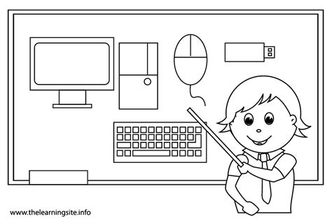 computer coloring pages getcoloringpagescom