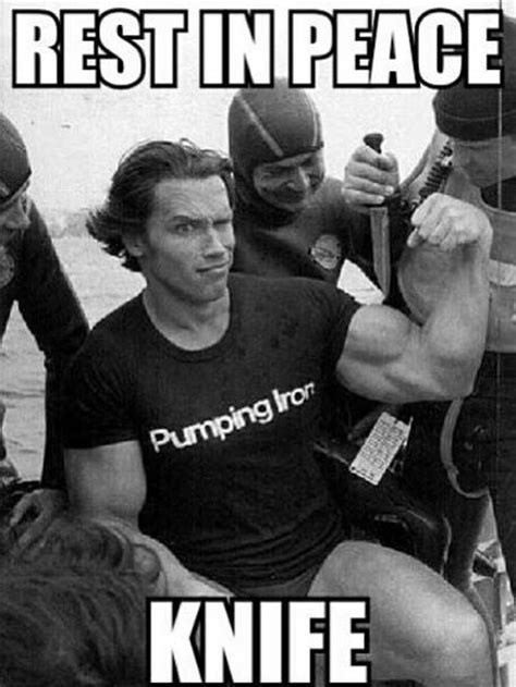 Arnold Meme - funniest gym meme collection for those who love bodybuilding and sarcasm muscle gaining