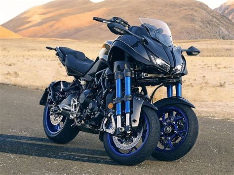 Yamaha's New Leaning, Two Front-wheeled Motorcycle