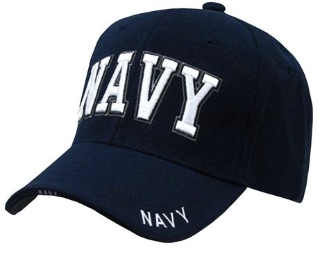 Us Navy Text Embroidered Military Baseball Cap Hat By