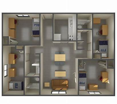University Apartments Fiu Campus Student Housing Residential