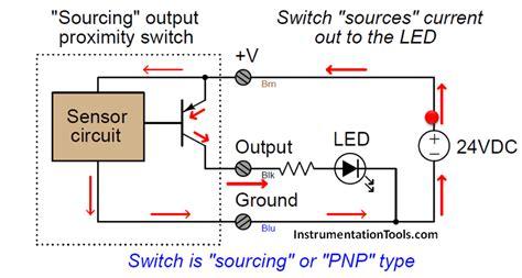 proximity switches circuit diagram operation instrumentation tools