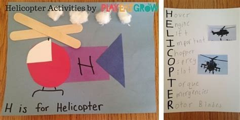 helicopter activities  kids play eat grow