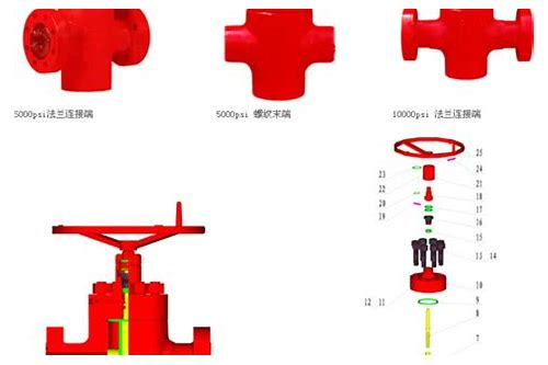 Api 16a spool for drilling adapter drilling spool and adapter.