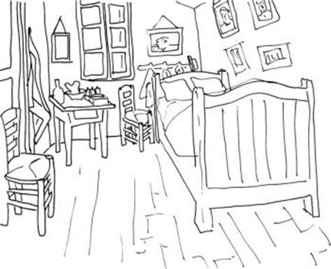 coloriage chambre chambre croquis