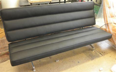 Eames Sofa Compact Reupholster by Eames Sofa Compact Reupholster Refil Sofa