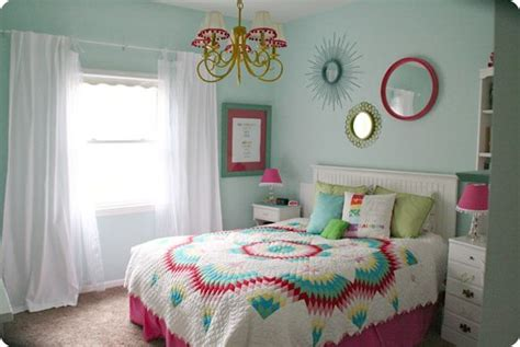 Colorful Teen Girls Bedroom  Paint Colors, Girls And Sea