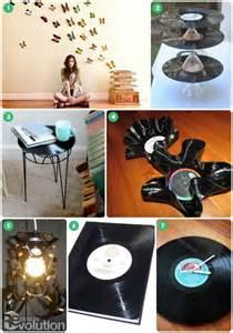 DIY Vinyl Record Crafts