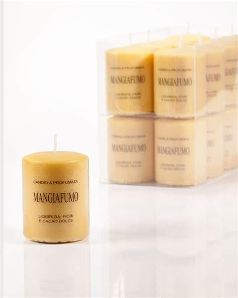 candela mangiafumo lumen candela 5x7 mangiafumo ocra purifica deodora