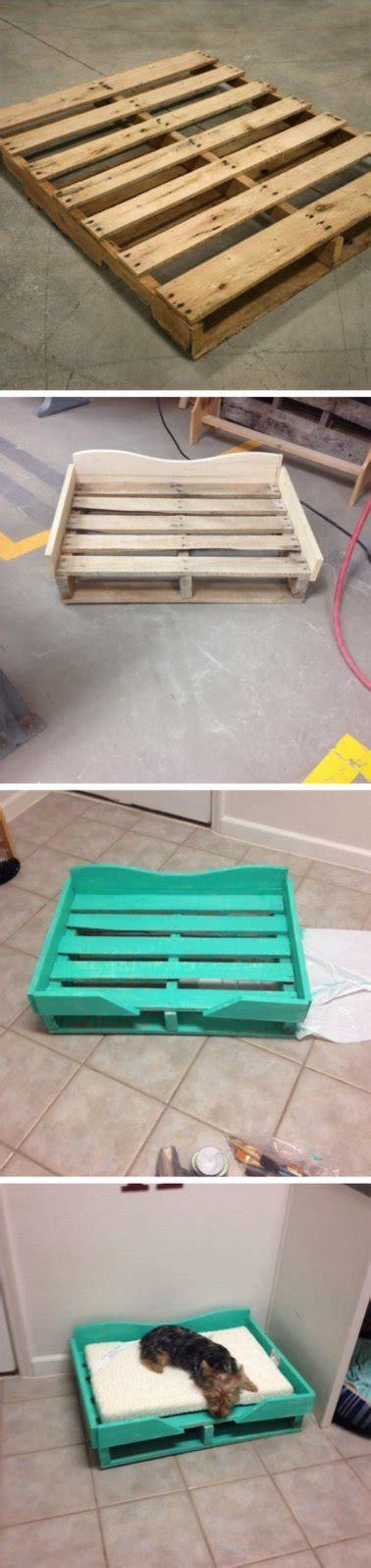 canapé de jardin en palette lits pour chien en palette bois à réaliser soi même