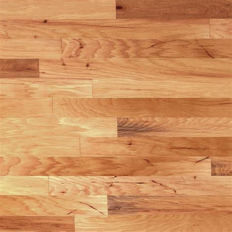 hardwood flooring heritage mill scraped vintage hickory natural 3 8 in tx 4 3 4 in w x random length engineered