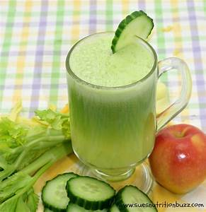 cucumber juice with apples celery for great skin