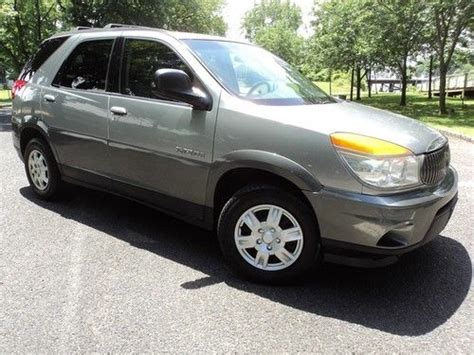 Find Used 2003 Buick Rendezvous Cx Runs Great Super Clean