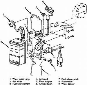 Ford 7 3 Fuel Filter Restriction Sensor