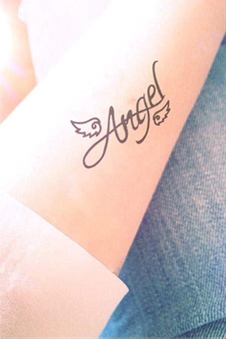 pcs angel wing tattoo inknart  inknartshop temporary