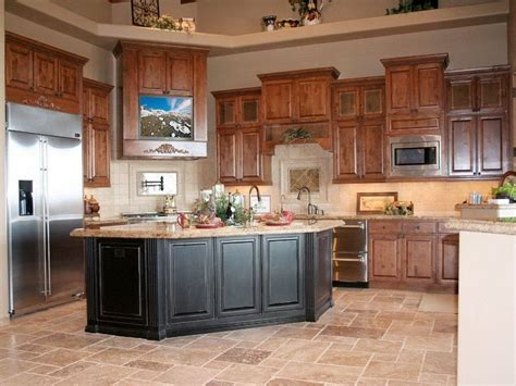 best kitchen colors with oak cabinets for the home oak