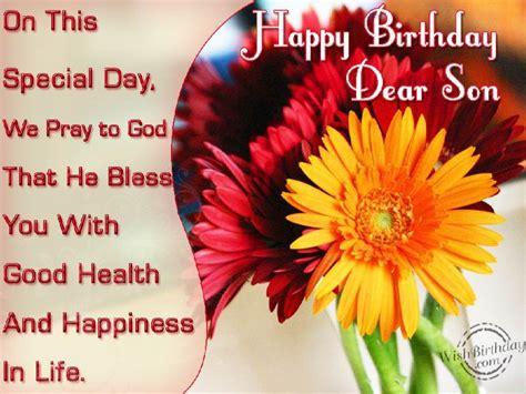 happy birthday dear son wishbirthdaycom