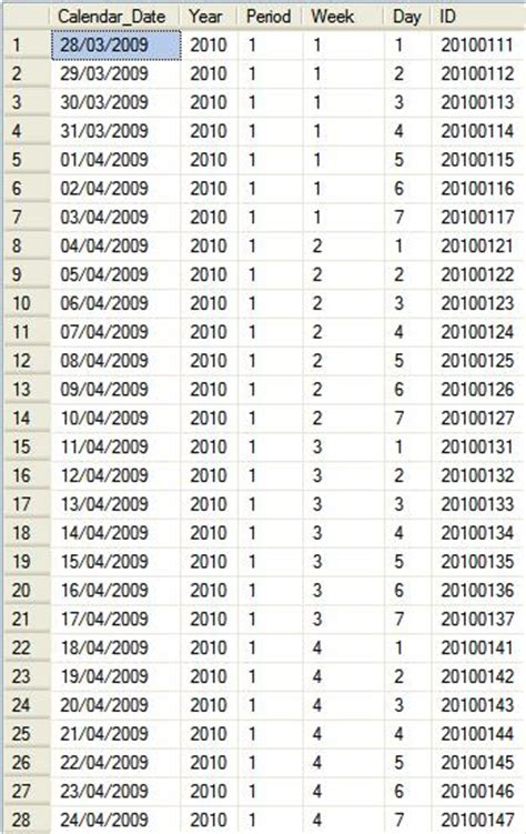 52 Weekly Calendar - printable year calendar