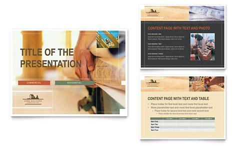home builders construction newsletter template design