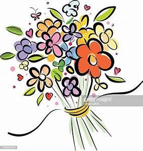 illustrations et dessins animes de bouquet de fleurs With chambre bébé design avec bouquet de fleurs dessin