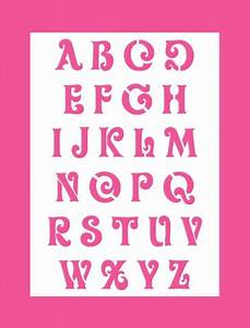 Buchstaben Schablone Metall : schrift schablone hobby bastel mix shop wand mal motiv schablonen druckbuchstaben alphabet ~ Frokenaadalensverden.com Haus und Dekorationen