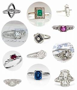 20 vintage platinum engagement rings for under 3k With 3k wedding ring