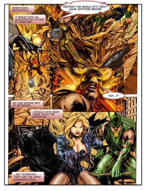 Wonder Woman Vs Warlord Superhero Manga Pictures