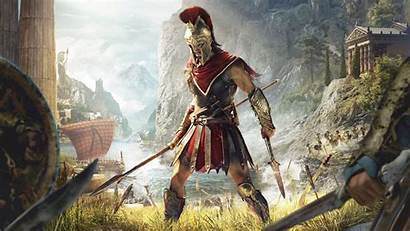 4k Creed Odyssey Assassin Wallpapers Uhd Ultra