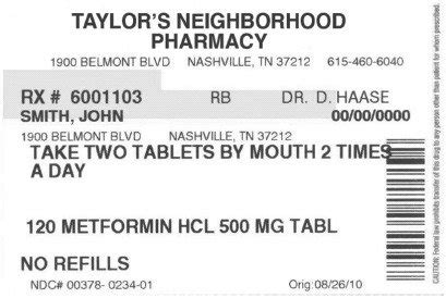 traditional medication label  shown  patients