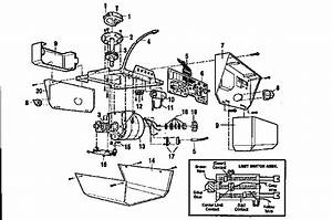 Stanley Garage Door Opener Parts Diagram