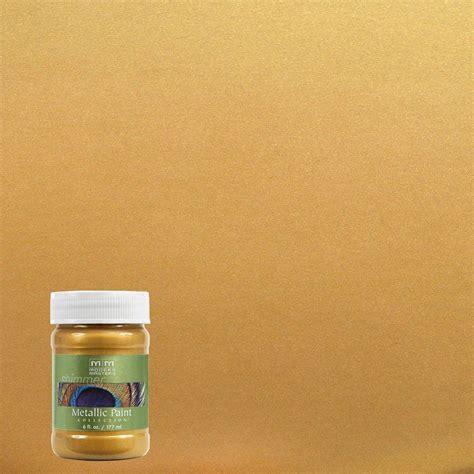 modern masters 6 oz iridescent gold metallic interior