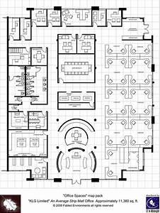 Modern Floorplans  Single Floor Office