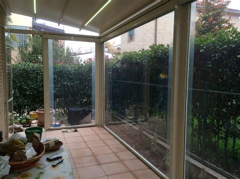veranda terrazzo vetro tende invernali tende veranda per balconi e terrazzi