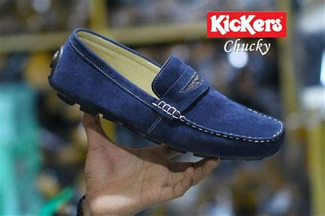 kickers slip on casual pria jual sepatu slip on casual pria kickers santai di lapak grosir sepatu izzfootwear