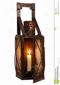 Lampe Mit Eigenen Fotos : alte lampe mit brennender kerze stockbild bild von ~ Lizthompson.info Haus und Dekorationen