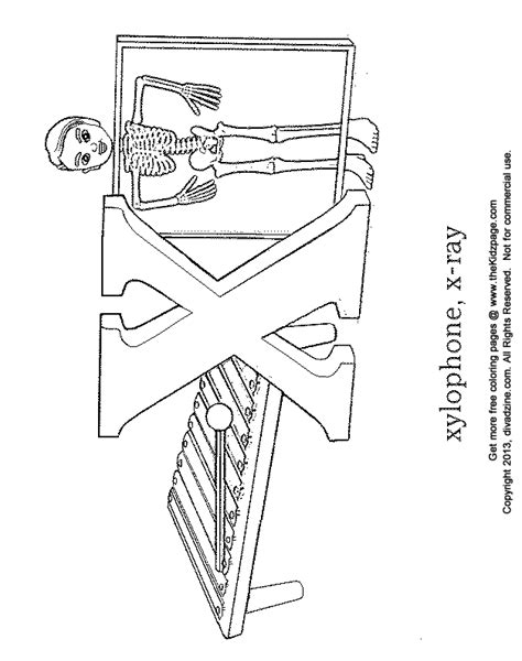 X For Coloring by Letter X Coloring Pages Getcoloringpages