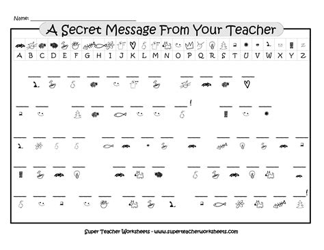 secret code math worksheets solve then decode arithmetic