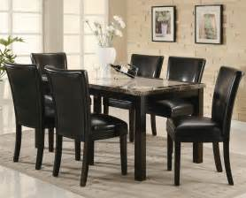 dining room table sets coaster 102260 102262 brown wood and marble dining table set in los angeles ca