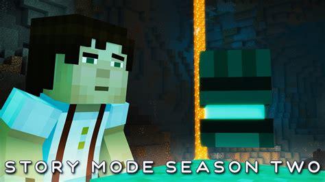minecraft story mode 2 strange prismarine glove season 2 episode 1 4k 60fps