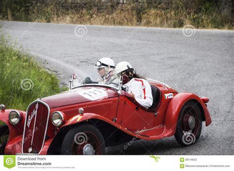 Fiat 508 S Mille Miglia Balilla Sport 1933 Editorial