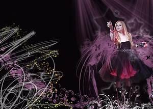 Avril Lavigne BLACK STAR Wallpaper - Avril Lavigne Photo ...