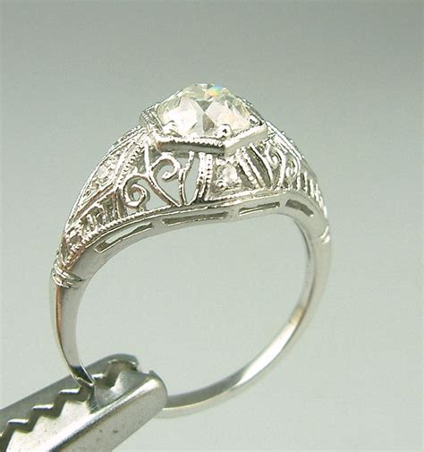 vintage estate engagement rings wedding promise engagement rings trendyrings