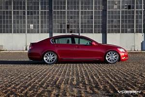 Lexus GS 350 custom wheels Vossen VVS 083 20x9 0, ET