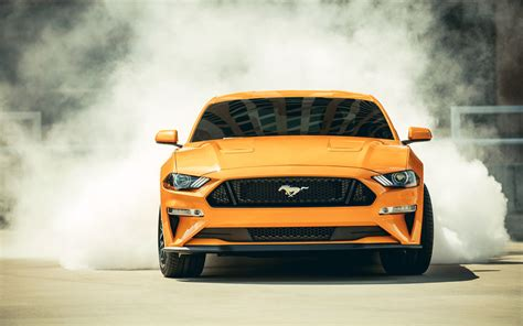 2018 Ford Mustang Gt Fastback Sports Car 4k Wallpapers