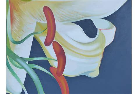 oil  canvas  lowell nesbitt  modernism