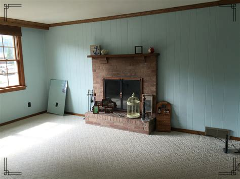 how to paint wood paneling joseph and lynnette