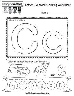 free kindergarten alphabet worksheets learning the basics