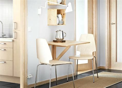 fold down dining table small kitchen decorating ideas