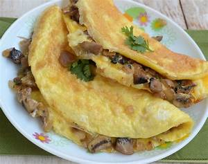 Mushroom and Cheese Omelette   My India